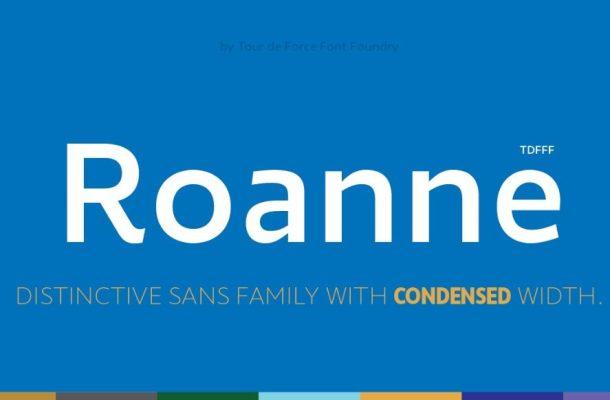 Roanne Font Family