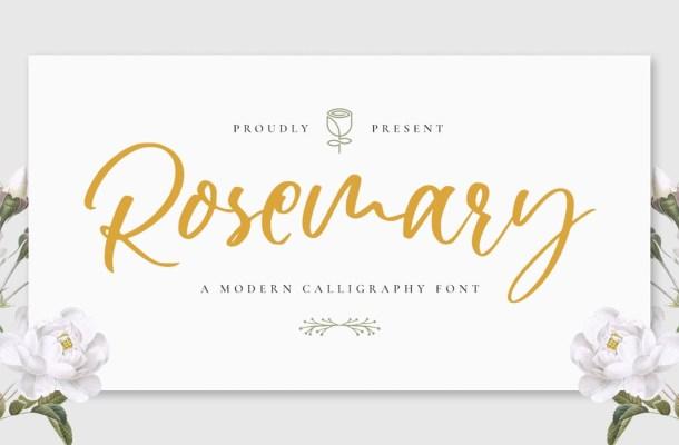 Rosemary Font