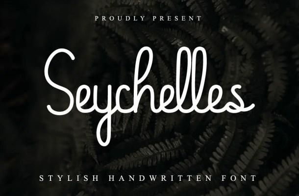 Seychelles Font
