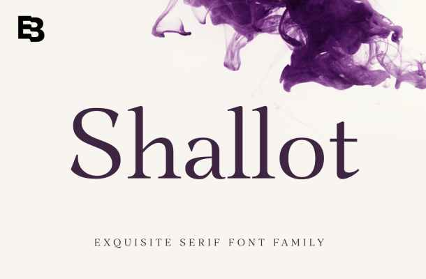 Shallot Font Family