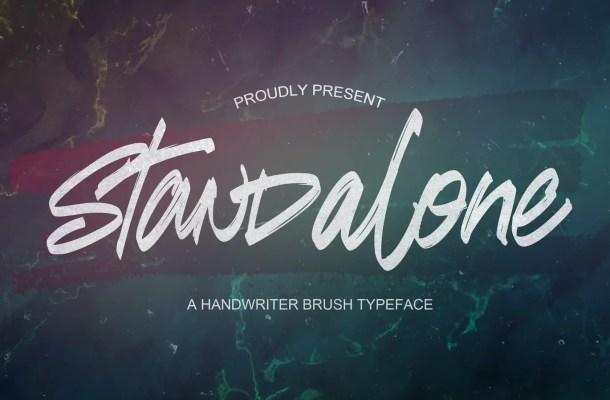 Standalone Font