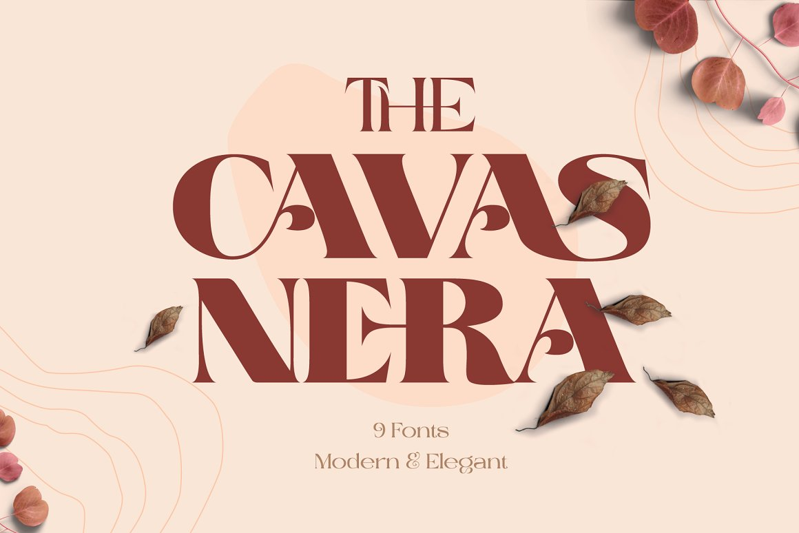 The Cavas Nera Serif Font -1
