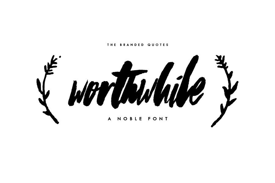 01_worthwhile-free-font