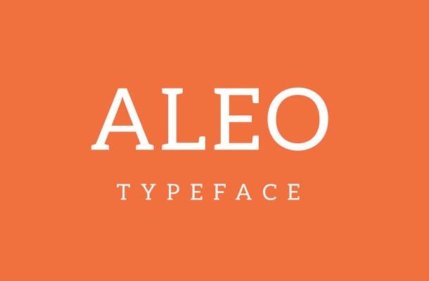 Aleo Font Family