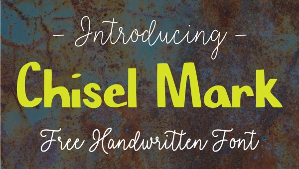 Chisel Mark Font Free