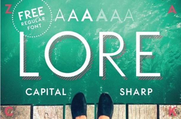 LORE Font Free