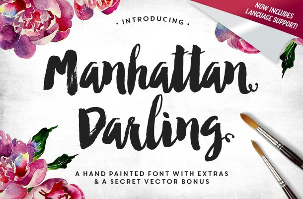 Manhattan Darling Typeface