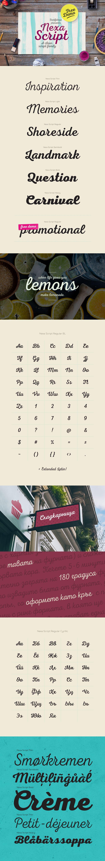 Nexa Script - Fontfabric