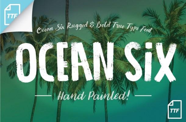 Ocean Six Font Free