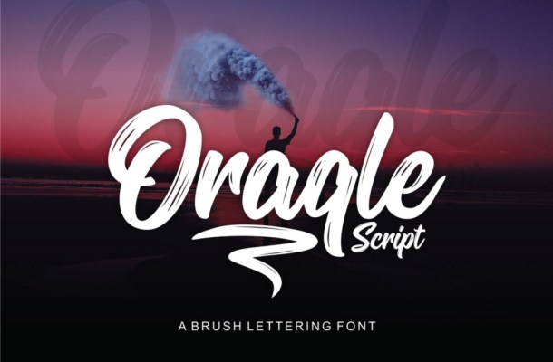 Oraqle Script Font Free