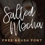 Salted Mocha Font Free