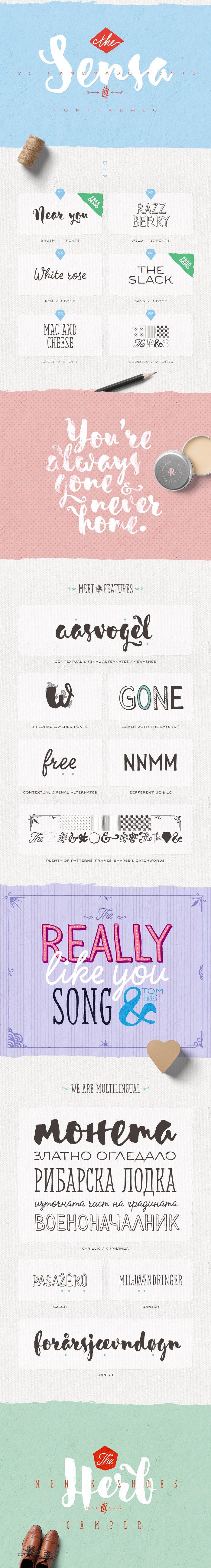 Sensa - Fontfabric