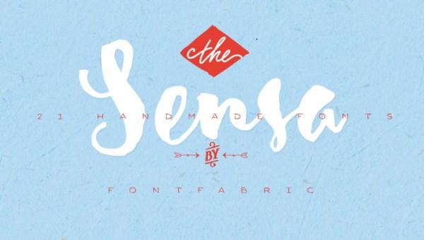 Sensa Script Font