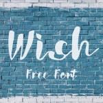 Wish Script Font Free