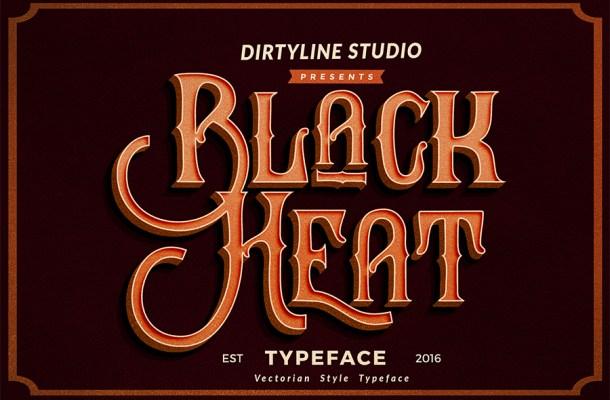 Black Heat Font Free