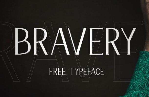 Bravery Font Free