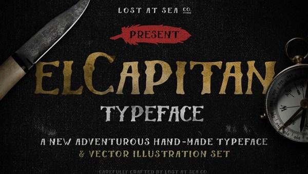 El Capitan Font Free