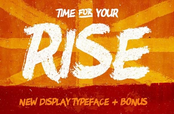 RISE Typeface