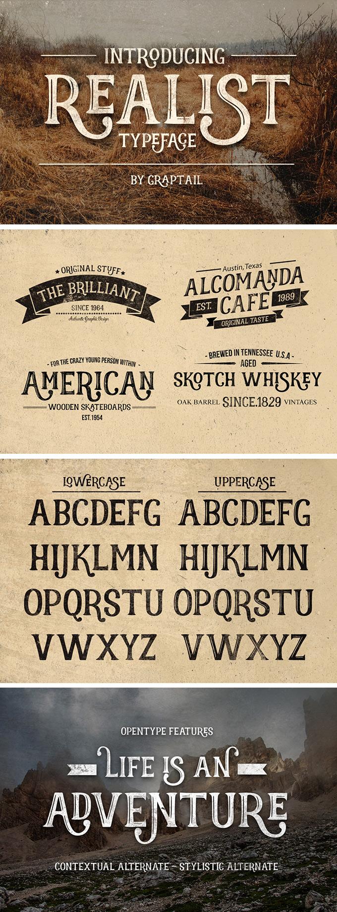 Realist Font - Dafont Free