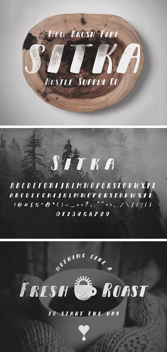 Sitka Brush Font Free - Dafont Free
