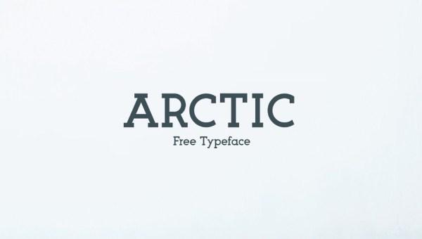 Arctic Font Free