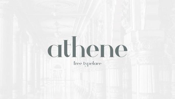 Athene Font Free