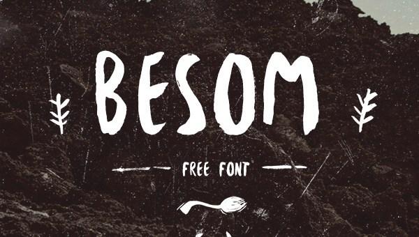 Besom Font Free