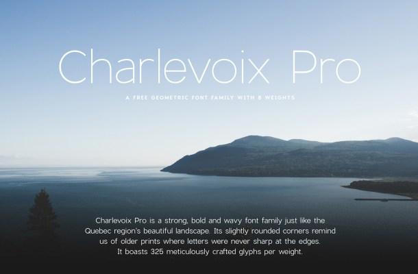 Charlevoix Pro Font Family