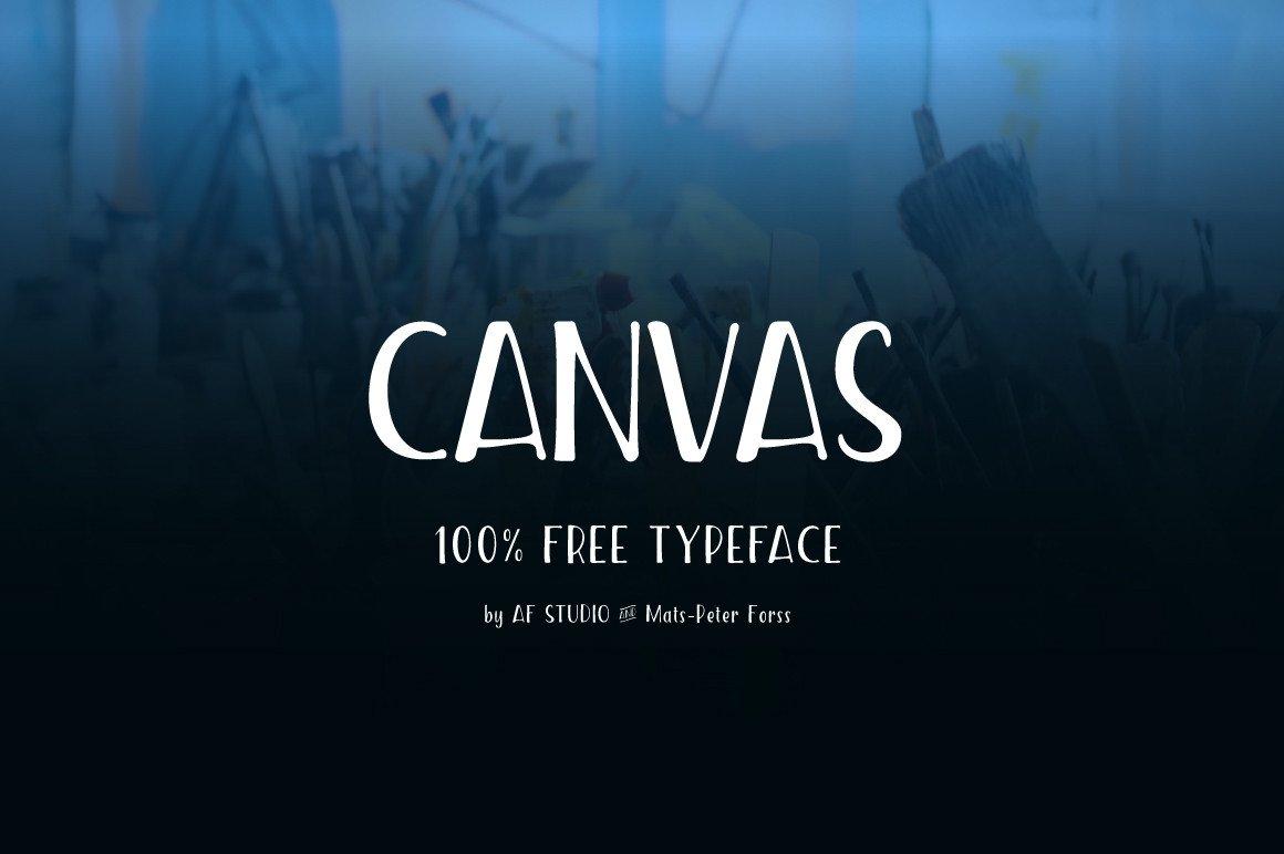 Download Canvas Font Free - Dafont Free