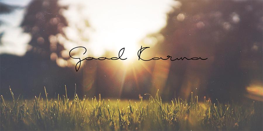 01_good-karma-free-font