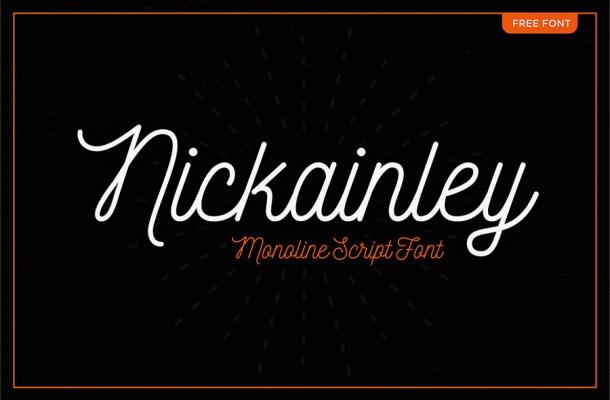 Nickainley Script Font Free