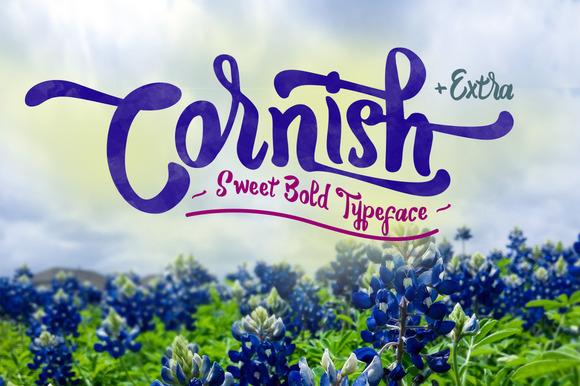 Cornish + Extra Typeface Free