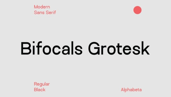 Bifocals Grotesk Font Free