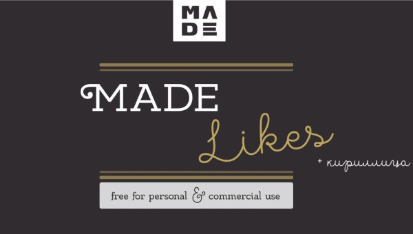 MADE Likes Font Free