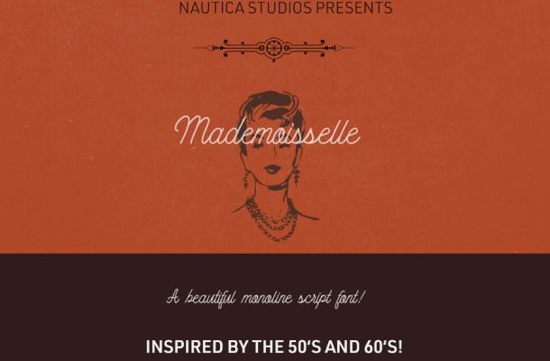 Mademoiselle Script Font Free
