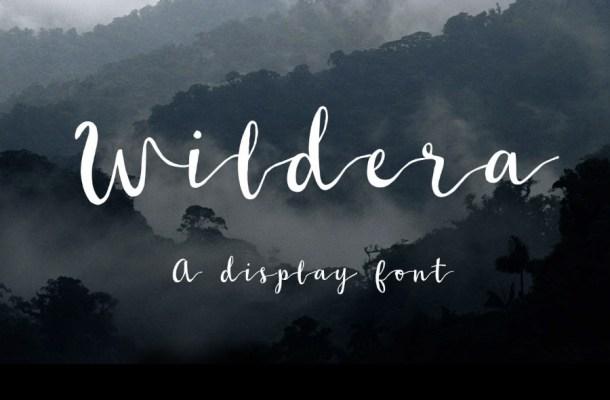 Wildera Script Font Free