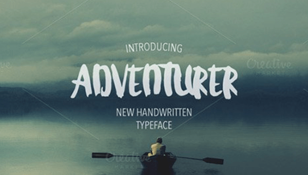 Adventurer Handwritten Font Free