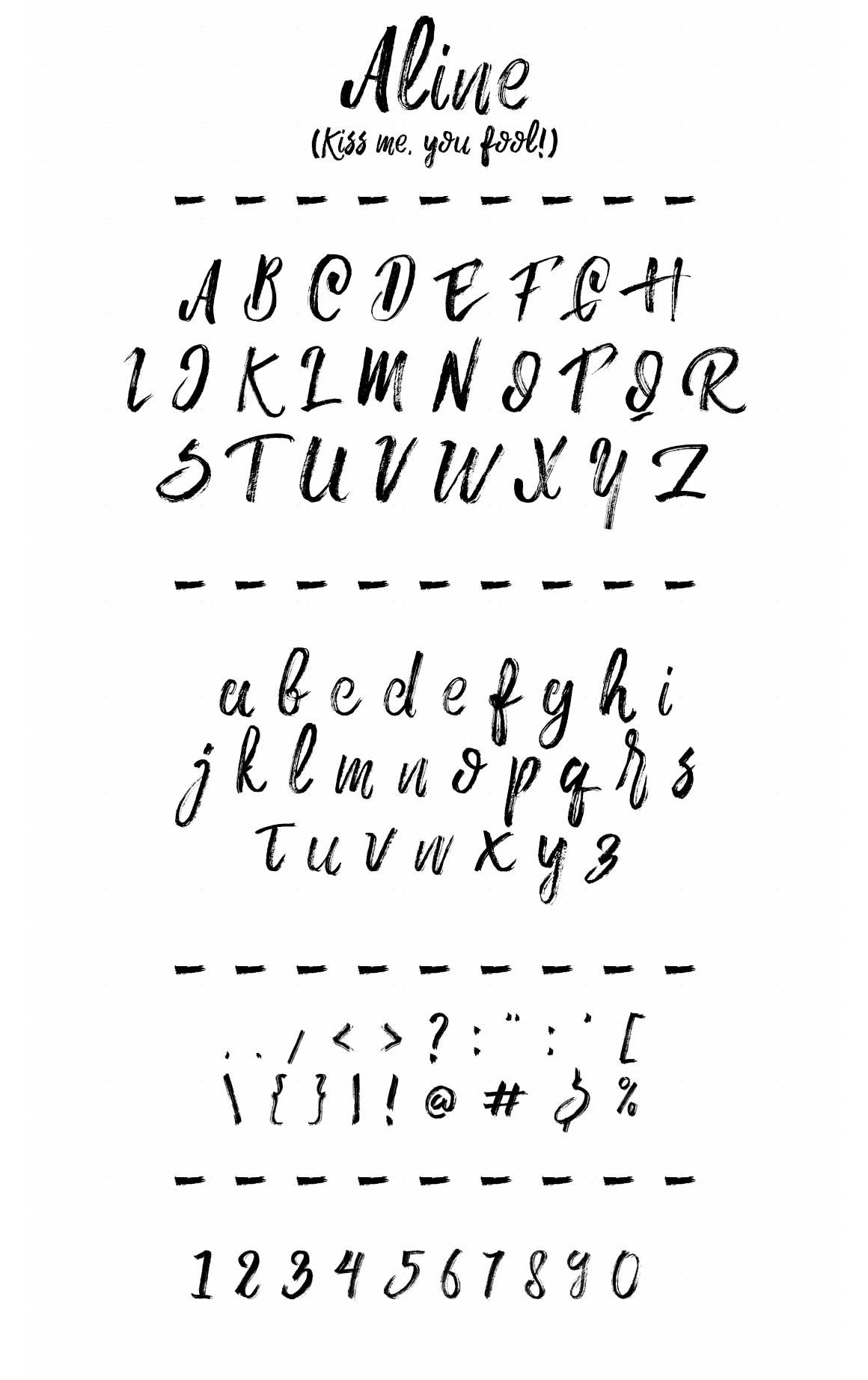 aline-brush-font-1