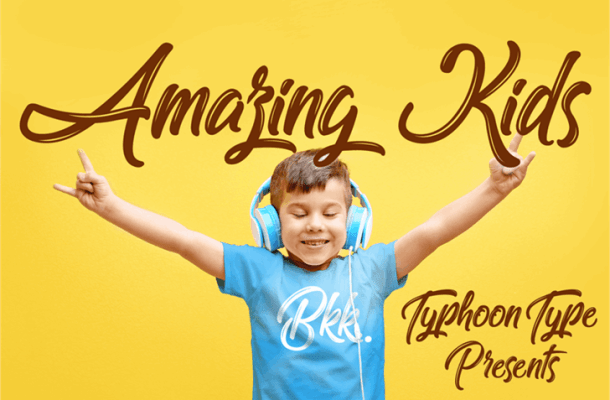 Amazing Kids Font Free