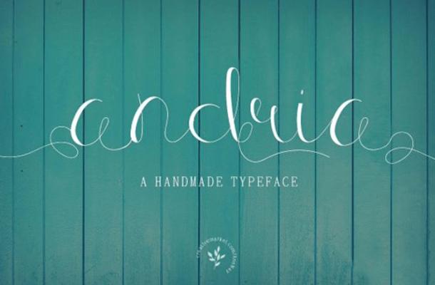 Andria Handmade Font Free