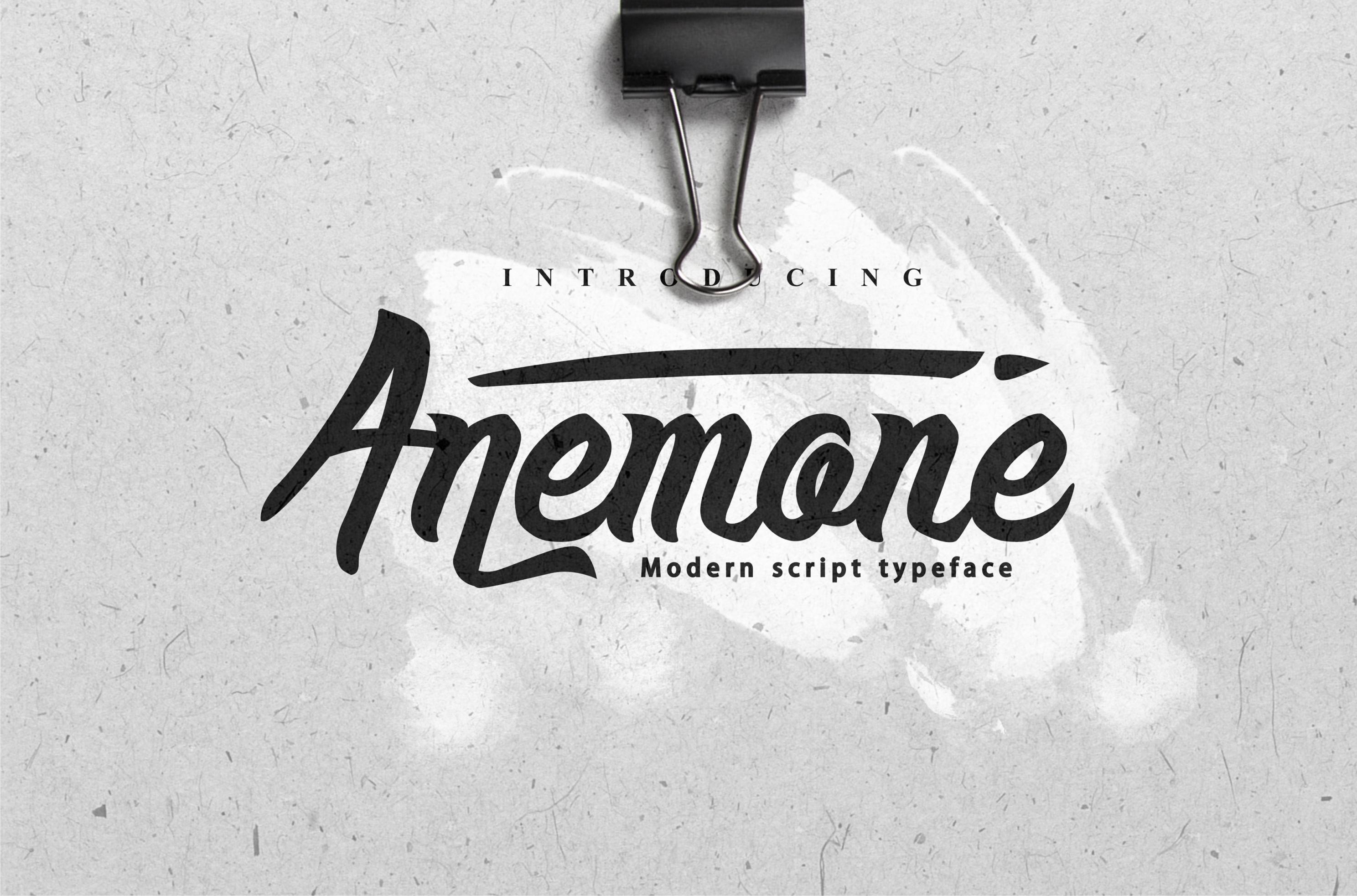 anemone-script-font1