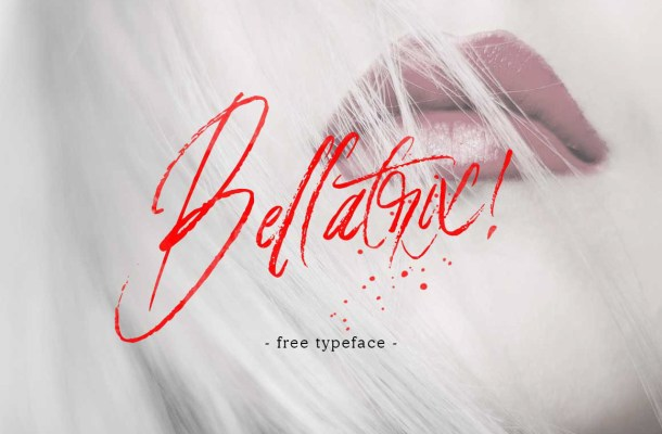 Bellatrix Handbrush Font Free