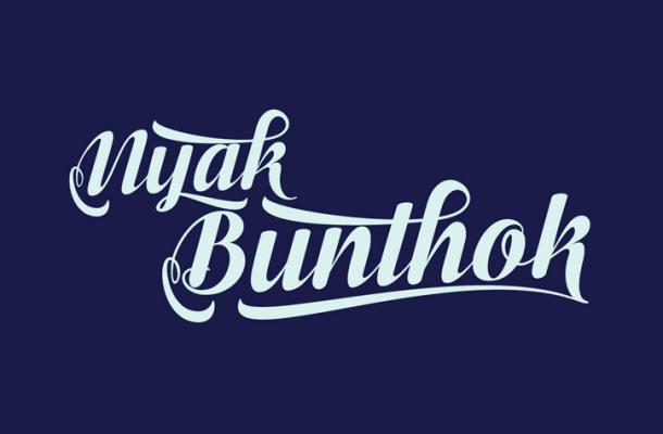 Bunthok Script Font Free