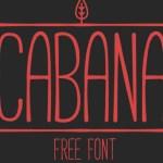 CABANA Font Free