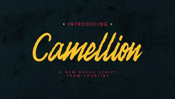 Camellion Brush Font Free