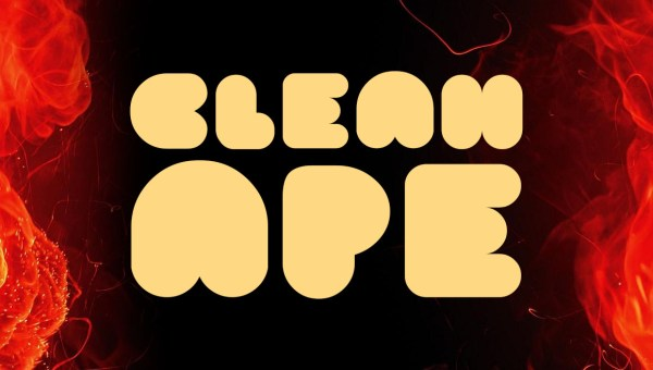 Clean Ape Typeface Free