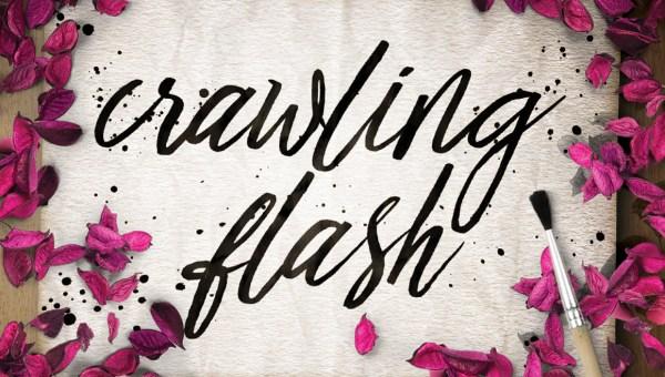 Crawling Flash Script Font Free