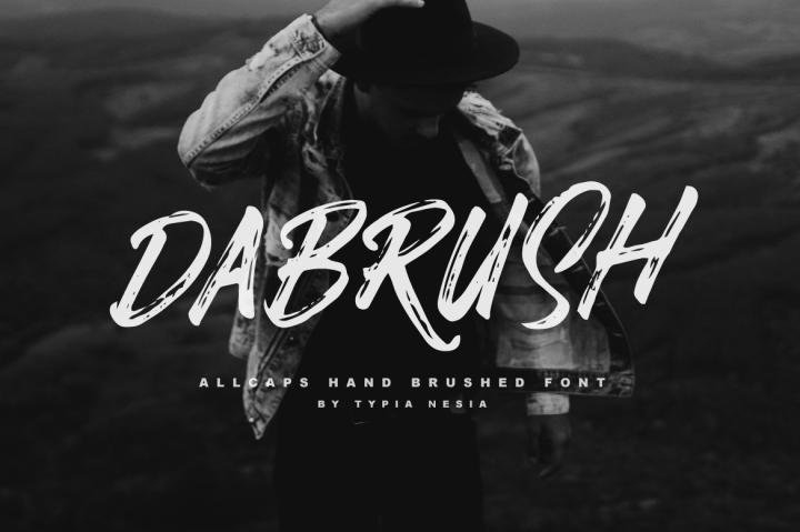 dabrush-brush-font