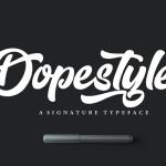 Dopestyle Script Font Free