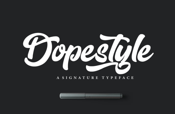 Dopestyle Script Font Free